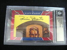 ROBIN ROBERTS AUTO CARD--2014 LEAF SPORTS ICONS--1/1 !!!