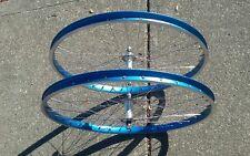 Vintage Blue WEINMANN 26 X 1.75 7C Old School BMX MTB Cruiser Wheel Set OM KOSS