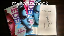 SIGNED Elites of Eden by Joey Graceffa, hardcover, new, autographed with photos