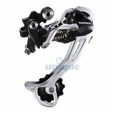 Shimano Deore XT RD-M772-SGS 9-Speed Shadow Rear Derailleur Long Cage - Silver