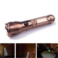 Sky Wolf Eye 3500 Lumen 3 Modes CREE T6 LED 18650 Battery Torch Lamp Flashlight