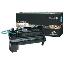 Lexmark Extra High Yield X792X1KG Black Return Program Toner Cartridge
