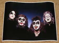 KISS 1974 1ST LP OUTTAKE PHOTO POSTER 16 X 20