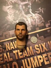 "Mini veces Us Navy Seal Team 6 K9 Halo Jumper 12"" cabeza esculpida Suelto Escala 1/6th"