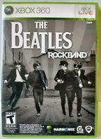 """The Beatles: Rock Band"" Microsoft Xbox 360 2009"