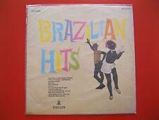 "BRAZILIAN HITS~OBRAS PRIMAS DA MUSICA~VINYL~33RPM~12""~ODEON RECORDS~BRAZIL~VG+"