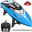 1:36 2.4Ghz RC Racing Boat 30KM/H High Speed Remote Control Boat For Adult Kids