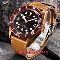 41mm Corgeut Luminous Sapphire Glass Date MIYOTA Automatic Movement men's Watch