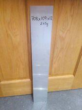 Foglio di alluminio 1.2mm 708x109x1.2 - Qtà 2