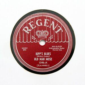 "OLD MAN MOSE ""Kipp's Blues / Matchbox Blues"" 1949 REGENT 1046 [BLUES 78]"