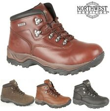 Northwest Territory Mens INUVIK Waterproof Leather Hiking Walking Trail Boots Sz