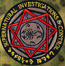 SUPERNATURAL DEVIL'S TRAP PATCH ~ VERY COOL! ~CW