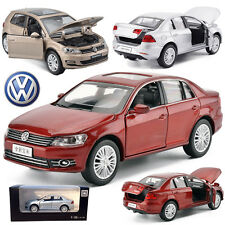 1:32 Volkswagen Bora Metal Alloy Diecast Model Pull Back Car Kids LED Sound Toy