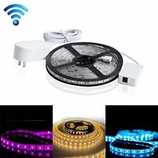 Smart WiFi LED Rope Light Outdoor Tape Rope 5M 5050 60D Color Changing RGB LED