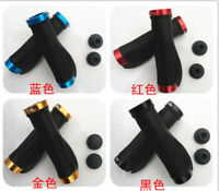 MTB Road Bike Bicycle grips Rubber Non-slip Lock on Bike Grip Handlebar Grip NEW