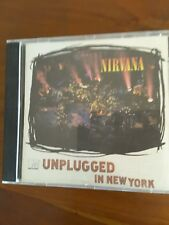 Nirvana 3 X cds In Utero, Nevermind and Unplugged in New York