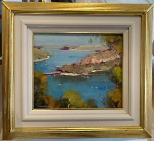 Colley Whisson original oil painting The Spit