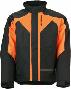 Arctiva 2020 PIVOT 3 Insulated Waterproof Jacket (Black/Orange) Choose Size