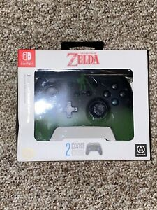 NEW Nintendo Switch The Legend Of Zelda Enhanced Wired Controller