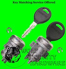Chrysler Dodge Jeep Door Lock Cylinder Pair Chrome Assembled With 2 Keys