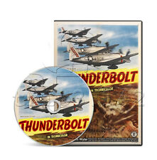 Thunderbolt (1947) History, War Documentary Movie/Film (DVD) (Very Good Quality)