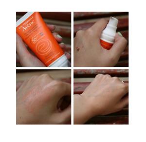 AVENE Emulsion SPF50 a very high protection care / , ideal for the sun-sensitive