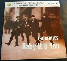 1995 THE BEATLES BABY ITS YOU 45 WITH PICTURE SLEEVE APPLE RECORDS NEW (777)