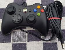 Controller (Xbox 360) schwarz vom Microsoft Zustand OK mit Kabel
