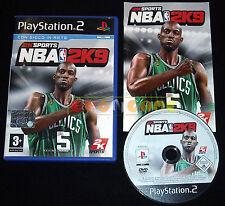 NBA 2K9 Ps2 Versione Ufficiale Italiana 1ª Edizione ••••• COMPLETO