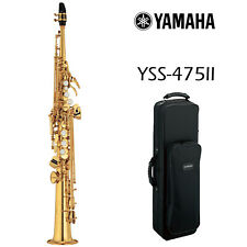 Yamaha YSS-475II Intermediate Soprano Saxophone - Gold Lacquered