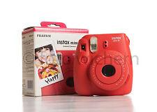 FUJIFILM Instax Mini 8 rot Set inkl. 2 Filme für 20 Fotos NEUWARE