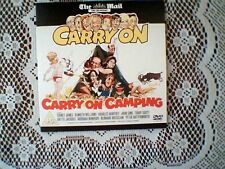 D/MAIL OR NEWS OF THE WORLD PROMO DVD- CARRY ON CAMPING - BRITISH COMEDY