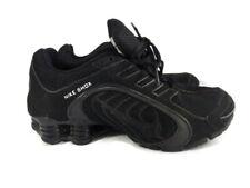 Nike Women's Shox Navina - 356918 002 - Triple Black Black Sparkle Size 8.5 VGUC