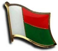 Madagascar Country Flag Bike Motorcycle Hat Cap lapel Pin