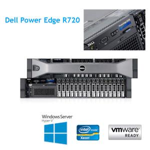 Dell PowerEdge R720 2 x E5-2670 V2 10 Core 2.5Ghz 128GB RAM 16 x 300GB HDD H710