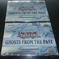 Yugioh Ghosts From the Past Mini Box 3 Packs Sealed Lot Of 2 Boxes Yu Gi Oh RARE