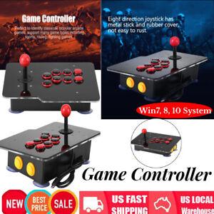 Arcade Fighting Game USB Stick Controller Joystick Gamepad For PC Computer