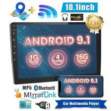 10.1 pulgada Radio de Coche Android 9.1 Quad Core GPS Navegación pantalla táctil