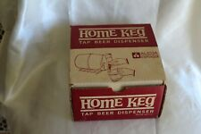 Vintage Alcoa Home Keg Beer Tap Dispenser Original Box Paperwork 1960s