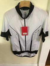 New-Old-Stock Specialized SL PRO Short-Sleeve Jersey White/Black -- Size Medium
