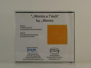 WORMS WHERE IS MY CAR (H1) 4 Track Promo CD Single Plastic Sleeve