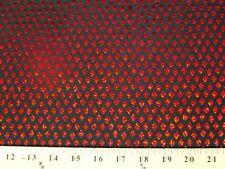 DIAMOND BLACK RED HS-22 HOLOGRAM SEQUINS SPANDEX LYCRA FABRIC $9.99/YARD