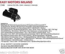 MOTORINO D'AVVIAMENTO MOTO GUZZI 750 S3/SP/STRADA/T/TARGA/V75/PA/POLIZIA/X