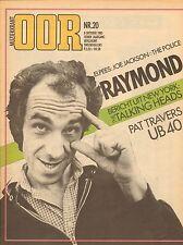 MAGAZINE OOR 1980 nr. 20 - UB 40/TALKING HEADS/RAYMOND VAN HET GROENEWOUD