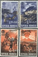 Indonesia 592-595 (complete issue) unmounted mint / never hinged 1967 Victims th