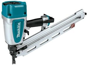 """Makita AN924 21º Full Round Head Plastic Collated 3-1/2"""" Framing Nailer New."""