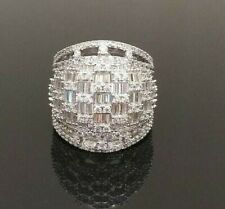 Cubic Zirconia Wedding Party Rings