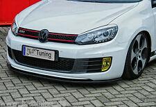 Spoilerschwert Frontspoiler Cuplippe aus ABS für VW Golf 6 GTI GTD mit ABE