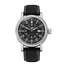 Runde polierte mechanisch - (automatische) Armbanduhren mit Datumsanzeige