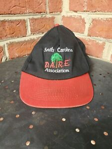 Vintage  Dare Hat D.A.R.E. To Keep Kids Off Drugs Snapback South Carolina